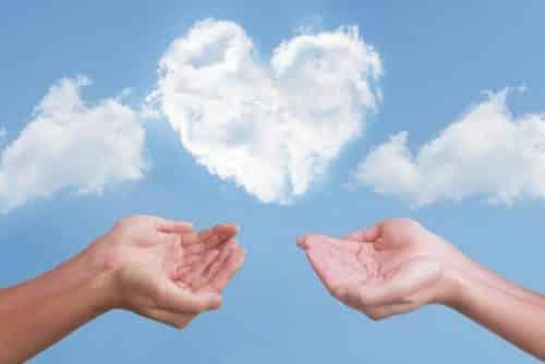 二人でハートの雲を救う