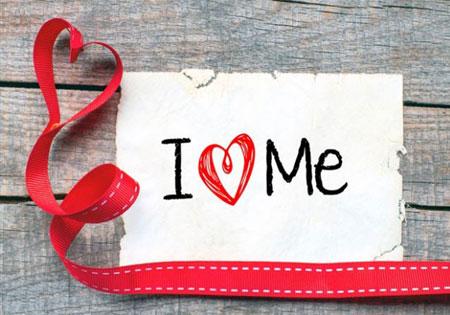 自分を愛するロゴ